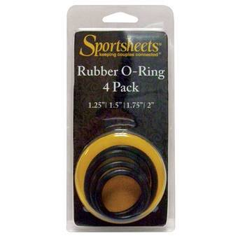 Sportsheets O-Ring Set (4 Pack)