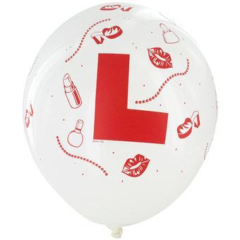 Hen L Plate Balloons