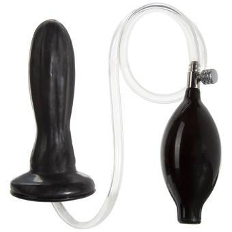 Plug anal gonflable en latex Wonder TitanMen par Doc Johnson