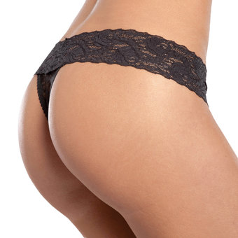 Seven Til Midnight Hipster Lace Thong