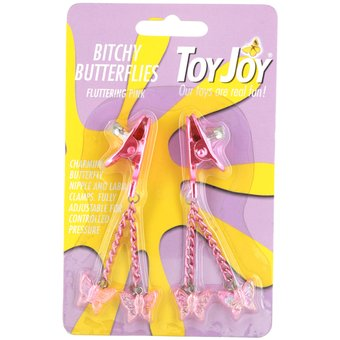 "Toy Joy Nippelspangen ""Bitchy Butterfly"""