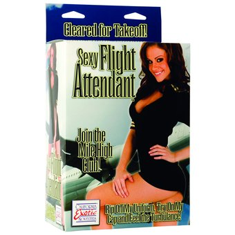 Sexy Flight Attendant Blow-Up Doll