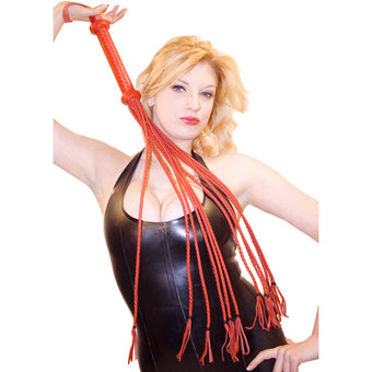 Bondage Boutique Hog Hide Twelve Tail Flogger Whip
