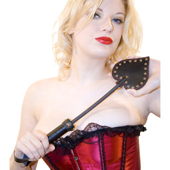 Bondage Boutique Leather Heart Paddle
