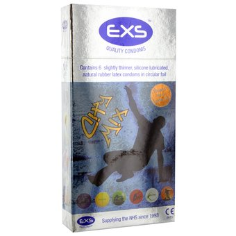 EXS City Mix Sensitive Condoms (6 Pack)