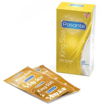 Pasante King Size-Kondome (12er Pack)