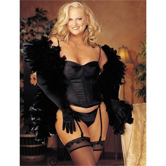 Shirley of Hollywood Plus Size Strapless Corset