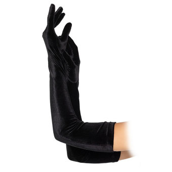 Leg Avenue Burlesque Stretch Velvet Opera Gloves