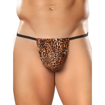 Male Power Animal Print Posing Pouch