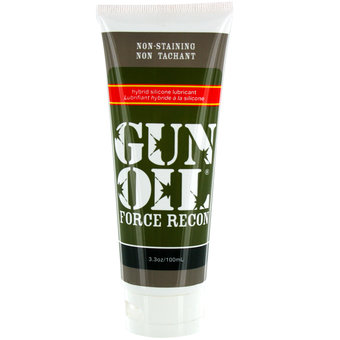 Lubrifiant anal Force Recon 100 ml par Gun Oil