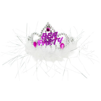 Fluffy Hen Party Tiara