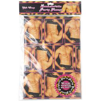 Hen Night Naked Torso Gift Wrap