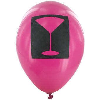 Cocktail Party Latex Balloons (6 Pack)