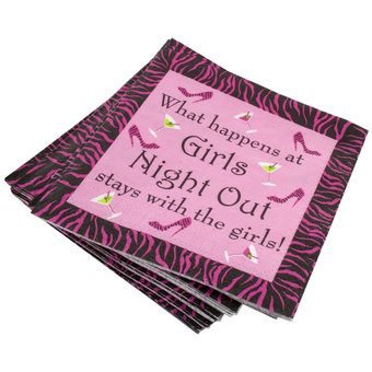 Cocktail Party Napkin Game (24 Pack)