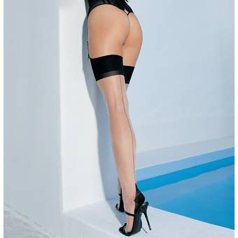 10% off Cuban Heel and Backseam Stockings at BeCheeky!