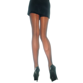Leg Avenue Sheer Backseam Tights
