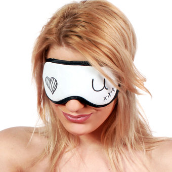 DIY Message Blindfold with Pen