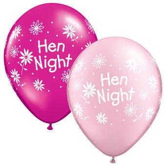 Hen Night Daisy Balloons (5 Pack)
