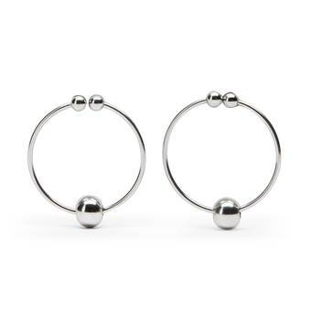 Nipple Ring with Balls (Twin Pack)