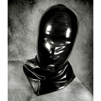 Renegade Rubber Latex Wear Shoulder Length Hangmans Mask