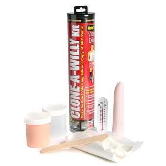 Clone-A-Willy Vibrator Moulding Kit