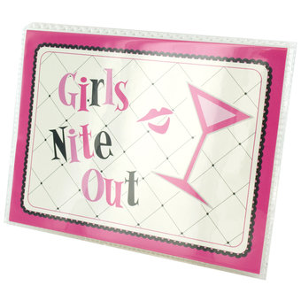 Girls Night Out Photo Flip Album