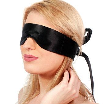 Twelfth wedding anniversary - silk - silk blindfold