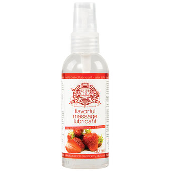 Touche Freezable Strawberry Massage Oil & Lubricant