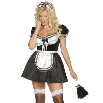 Fever Plus Size Envy Sexy French Maid
