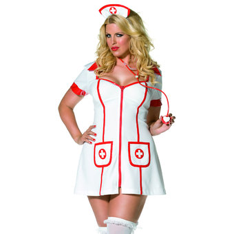 Fever Plus Size Envy Hot Nurse Costume