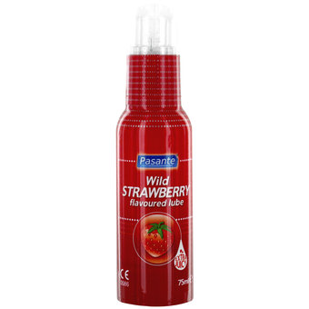 Pasante Wild Strawberry Flavoured Lubricant 75ml