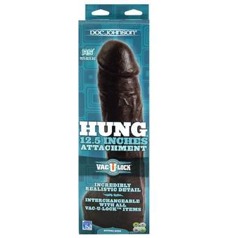 Doc Johnson Hung 12.5 Inch Vac-U-Lock Dildo Attachment
