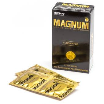 Trojan Magnum Large Condoms (12 Pack)