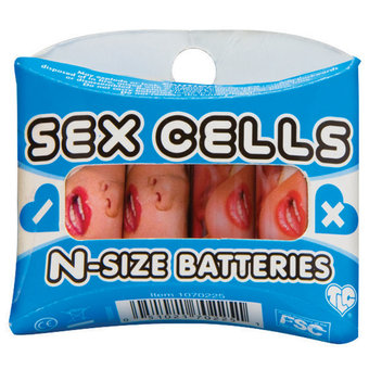 Sex Cells N Batteries (4 Pack)