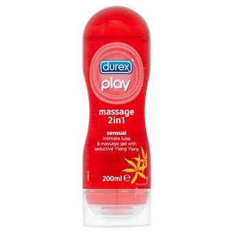 Durex Play Massage 2-in-1 Sensual Personal Lubricant 200ml