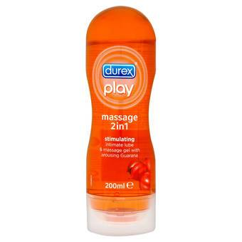 Durex Play Massage 2 in 1 Stimulating Personal Lubricant 200ml