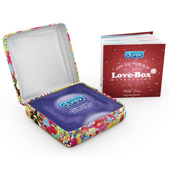 Durex Love Box Feeling Condoms (3 Pack)