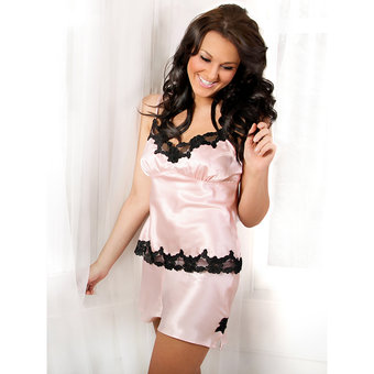 Enchant Satin Camisole and Shorts Set