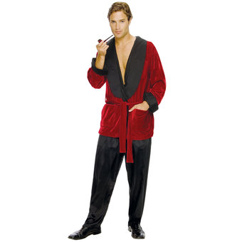 Playboy Hugh Hefner Smoking Jacket Robe