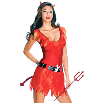Playboy Sexy Red Devil Costume
