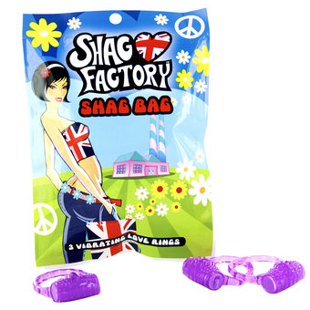 Shag Factory Shag Bag 3 Vibrating Love Rings
