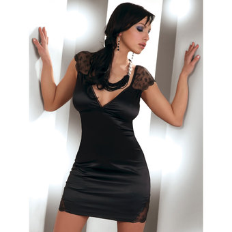 Livia Corsetti Evita Satin Dress and Knicker Set