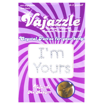 Fifteenth wedding anniversary - crystal - vajazzle