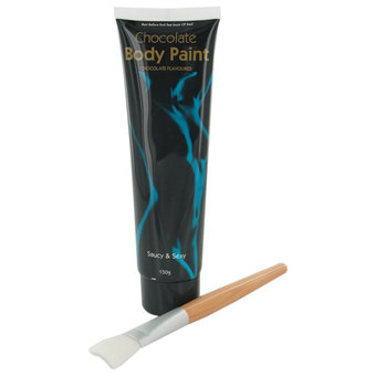 Chocolate Body Paint Tube 150ml