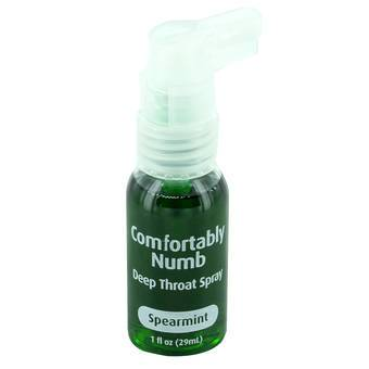 Comfortably Numb Spearmint Deep Throat Spray (29ml)