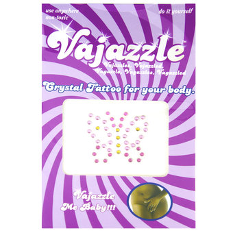 Vajazzle Butterfly Body Tattoo