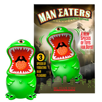 Man Eater from Outer Space Male Masturbator