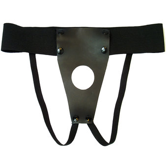 Unisex Leather Strap-On Harness