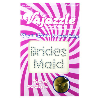 Vajazzle Bridesmaid Body Tattoo