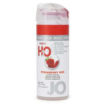 System JO Strawberry Kiss Flavoured Lubricant 150ml